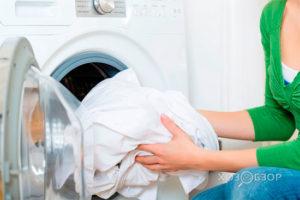Как стирать белые вещи в стиральной машине и вручную