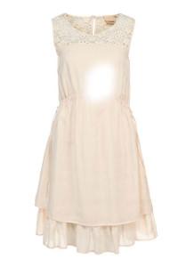 Полиняло светлое платье