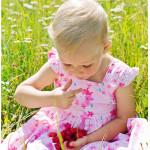 Как отстирать пятно от малины