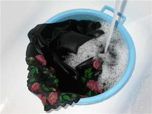 стирка черного белья