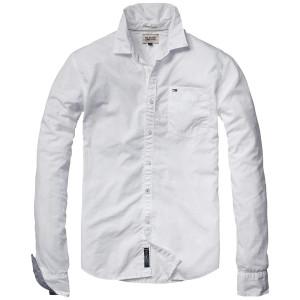 как стирать белую рубашку