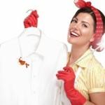 Какими средствами вывести пятна на одежде?