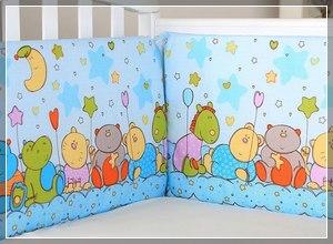 Как стирать бортики детской кровати