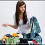 Как отстирать покрасившуюся одежду?