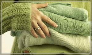Как стирать вязанные вещи (свитер)