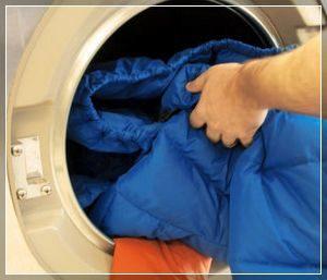 Средство для стирки пуховика в стиральной машине и вручную