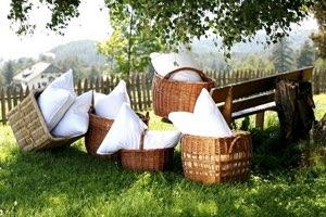 Как постирать перьевую подушку в домашних условиях
