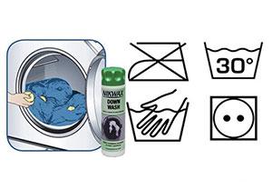 Стираем спальный мешок вручную