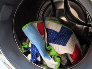 Как постирать ватное одеяло в машинке