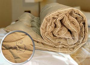 Уход за одеялом, выполненным из верблюжьей шерсти