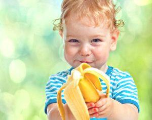 Как вывести пятно от банана