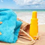Как вывести пятна крема от загара (солнцезащитного)