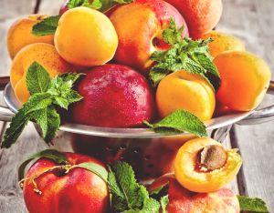 Как отстирать пятна от персика, абрикоса, нектарина