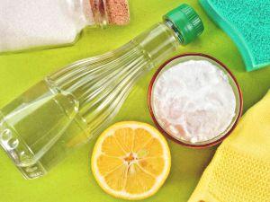 Растительное масло + лимонный сок