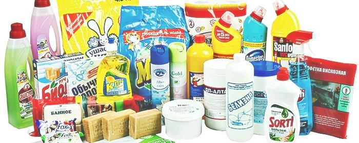 Использование для очистки специальной бытовой химии