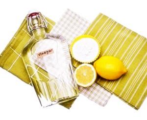 Способ №1: лимон и уксус