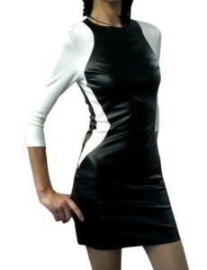 Как стирать платье из искусственной кожи