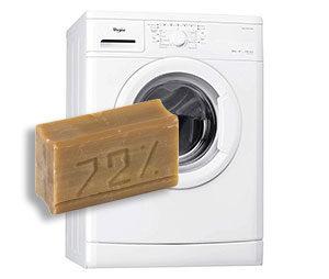 Стирать хозяйственным мылом в стиральной машине