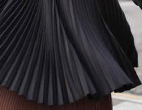 Как постирать плиссированную юбку