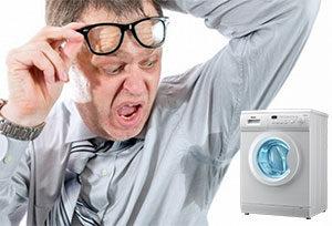 Как отстирать запах пота под мышками у одежды