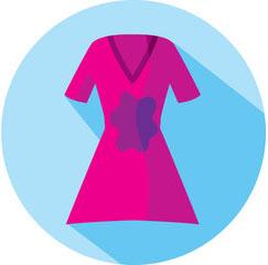 Выведение пятен на одежде