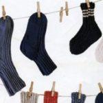 Как постирать шерстяные носки