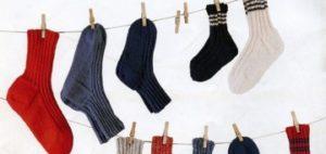 Как стирать шерстяные носки