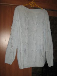 Что делать, если свитер растянулся после стирки