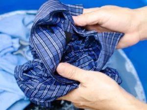 Как отстирать воротнички у мужских рубашек