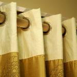 Как постирать шторы с люверсами
