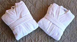 Как постирать махровый халат в стиральной машине?